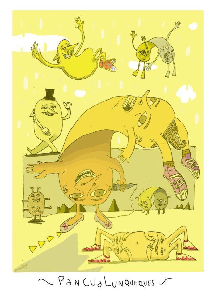 Pancualunqueques - Ilustración, por Cima
